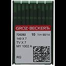 Groz-Beckert 149X7 RG Chromium 90/14