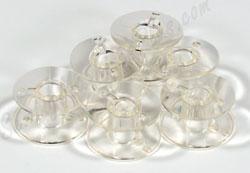 10 pk. Clear Bobbins 102261103 (SA156)