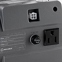Built-In Light Receptacle