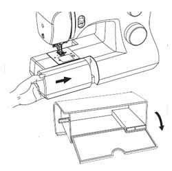 Free Arm Accessory Storage