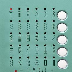 Push-Button Stitch Selection