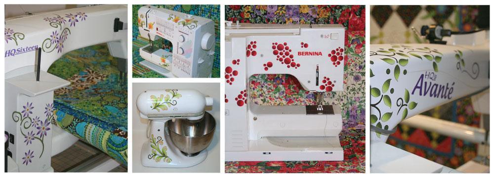 Sewing Machine Tattoo Collage