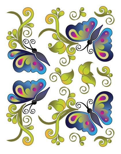 Butterfly Bliss Tattoo
