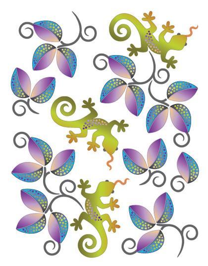 Leaves & Lizards Tattoo