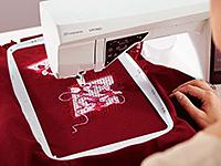 Largest Embroidery Area