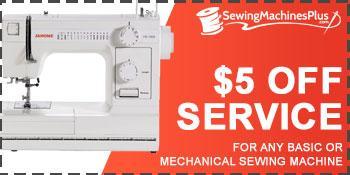 Basic Sewing Machine Service Coupon