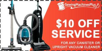 Vacuum Machine Service Coupon